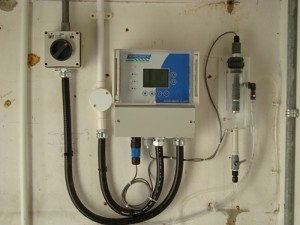 Version 2 Chlorine Analyzer in Distribution Monitoring Application.